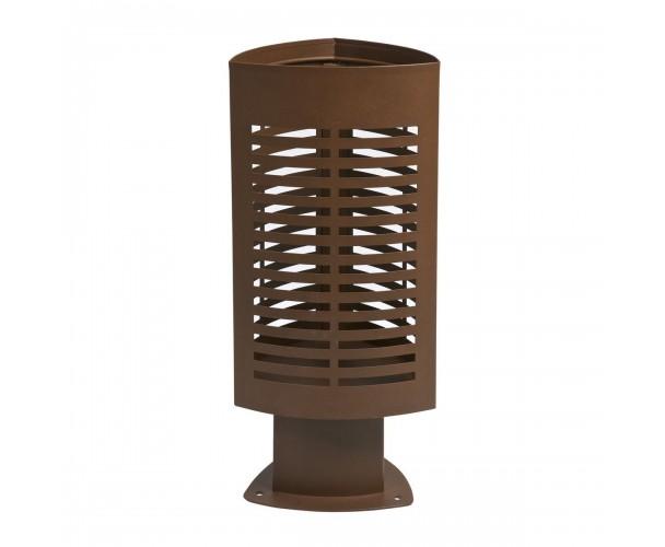 Scuderia brown corten bin for street C-2009-COR