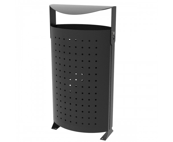 Martele Black-Silver rainbow bin for street C-2012