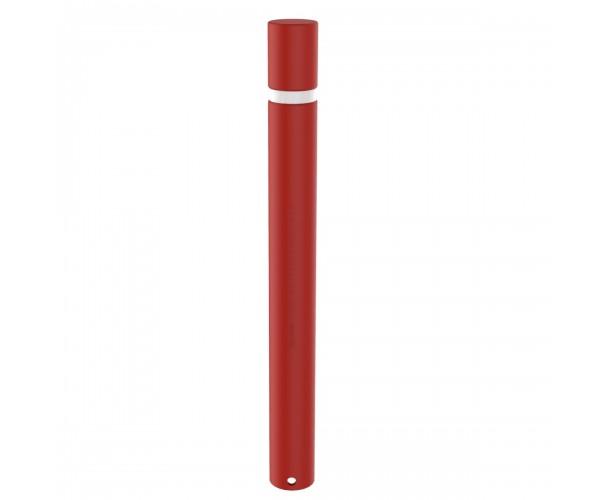Barcelona Polypropylene flexible bollard Red RAL 3020 color C-430-ROJ