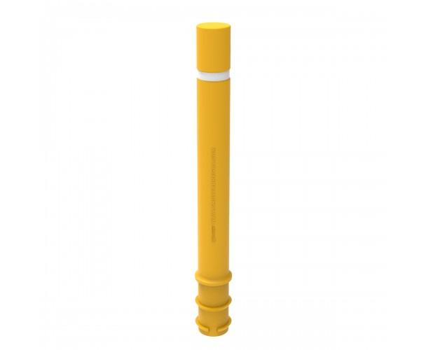 Pilona Barcelona Polipropilè flexible color Groc RAL1021 C-430-AMA