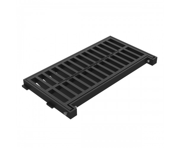 Folding grate and frame BURGOS in ductile casting D-4A